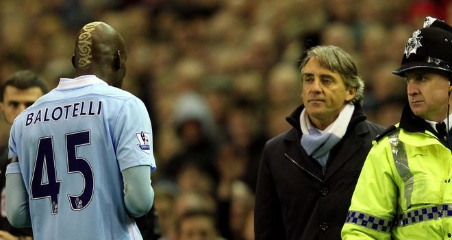 Roberto Mancini: Manchester City manager admits Mario Balotelli can be a frustrating figure