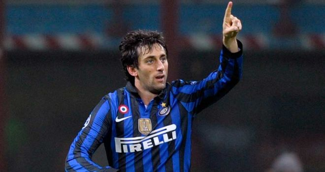 Diego Milito: Bagged 42 goals in 97 games for Inter Milan since joining from Genoa in 2009