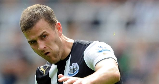 Ryan Taylor: The 27-year-old believes Newcastle have proved this season they are no longer a soft touch
