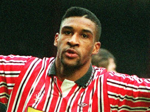 Brian Deane pictured during his playing days