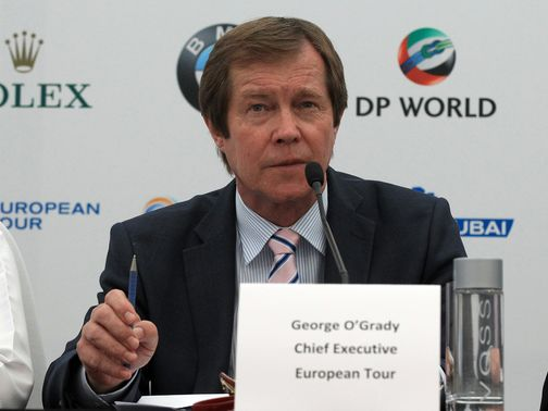 George O'Grady: European Tour chief executive