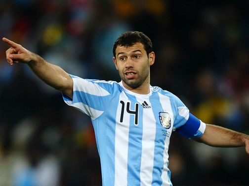 Javier Mascherano: Expects tough challenge