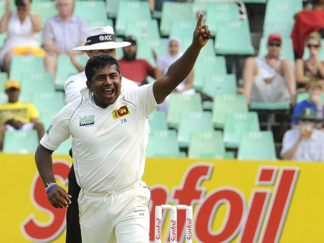 Rangana Herath: Claimed five wickets