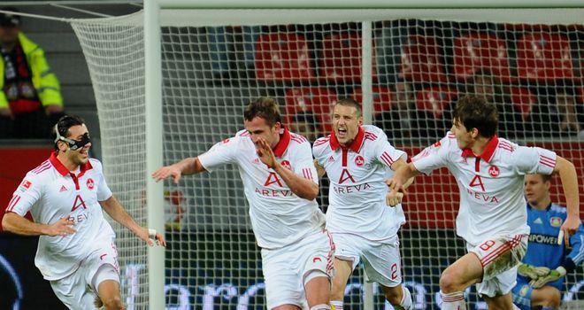 Tomas Pekhart: Scored twice for Neremberg
