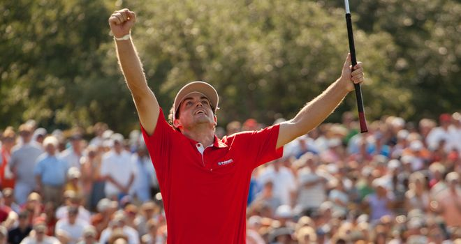 Keegan Bradley: Fitted the pattern in 2011 despite it being his first major