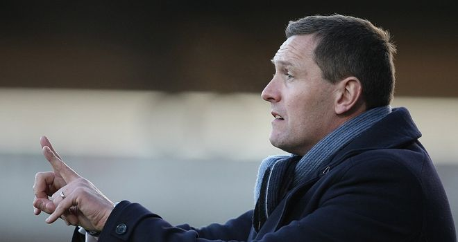 Boothroyd: Happy with draw