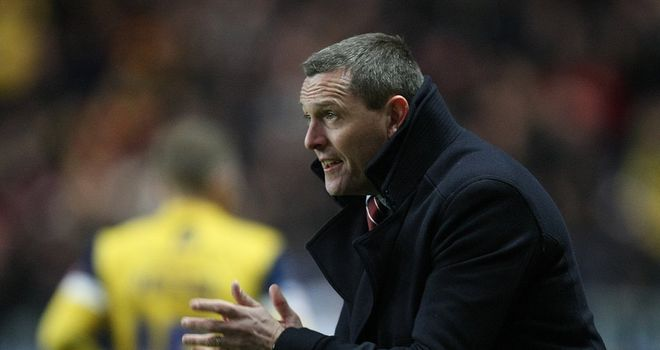 Aidy Boothroyd: Settles for a share of the spoils