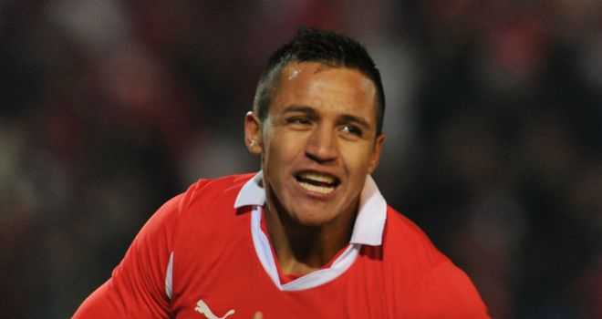 Alexis Sanchez: Double for Chile