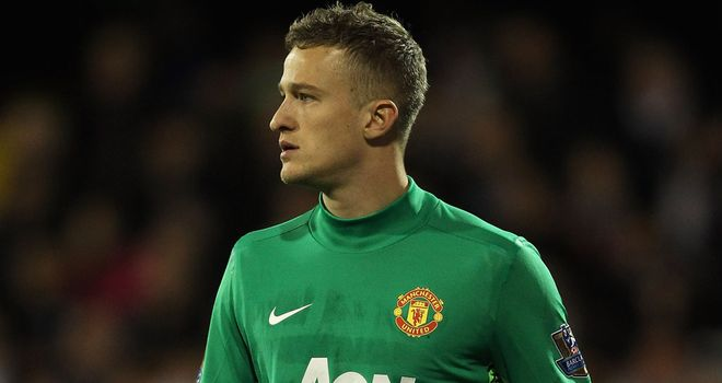 Anders Lindegaard: Hoping to prove himself to Sir Alex Ferguson