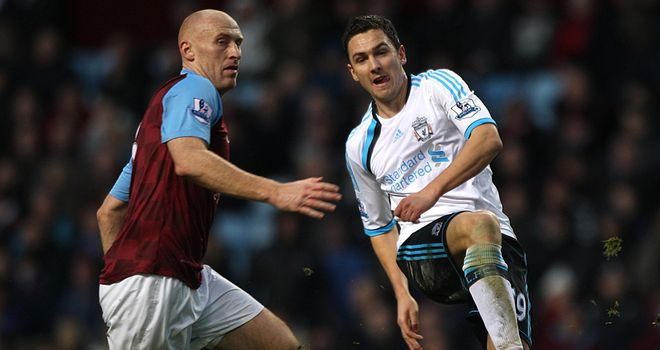 Stewart Downing: Liverpool winger had no problem with being booed upon his return to Aston Villa