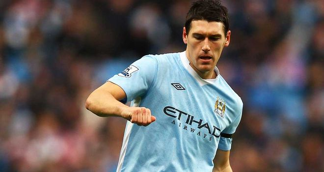 Gareth Barry: Manchester City midfielder earns the praise of his team-mates