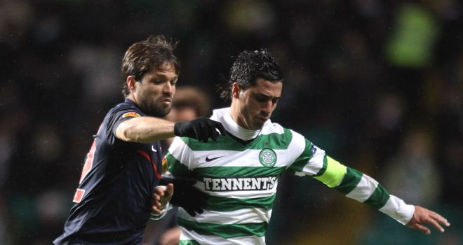 Beram Kayal: Neil Lennon jumps to the defence of midfielder after Europa defeat