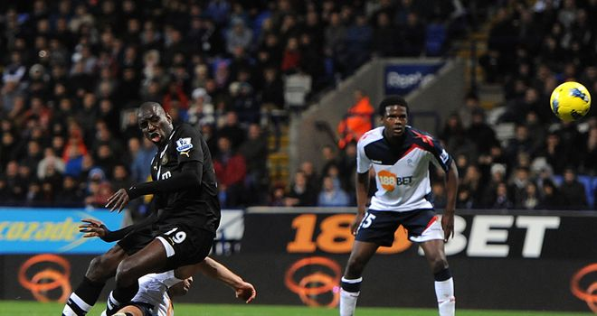 Demba Ba: Prolific marksman fires Newcastle to victory against Bolton