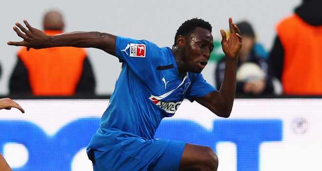 Chinedu Obasi: Earned Schalke a point with a second-half equaliser against Mainz