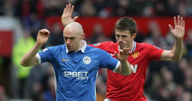 Conor Sammon: Striker is focused on his Wigan career after being linked with a loan move to Derby