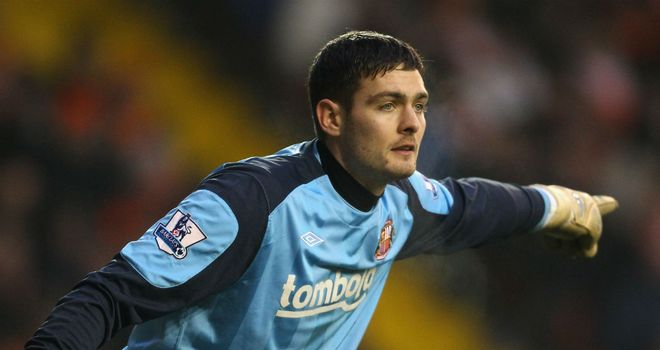 Craig Gordon: Will do everything in his power to get back into the Sunderland team