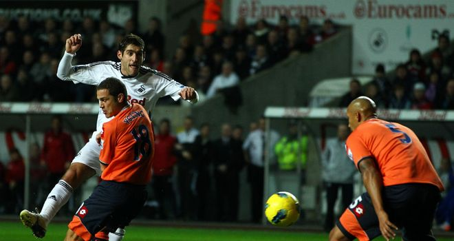 Danny Graham: Bagged a second-half double as Swansea saw off Barnsley at Oakwell