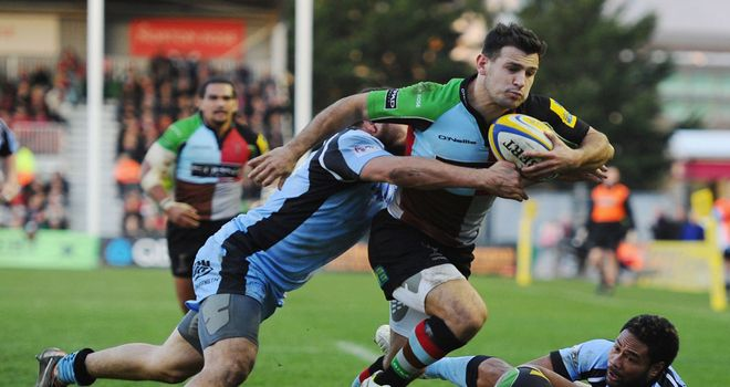 Danny Care: Fined by Harlequins