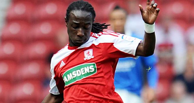 Marvin Emnes: Middlesbrough striker was the subject of a Swansea enquiry six weeks ago