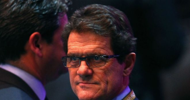 Fabio Capello: Likely to reduce preparation time after World Cup problems