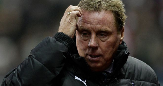 Harry Redknapp: Spurs boss does not expect to make any January signings