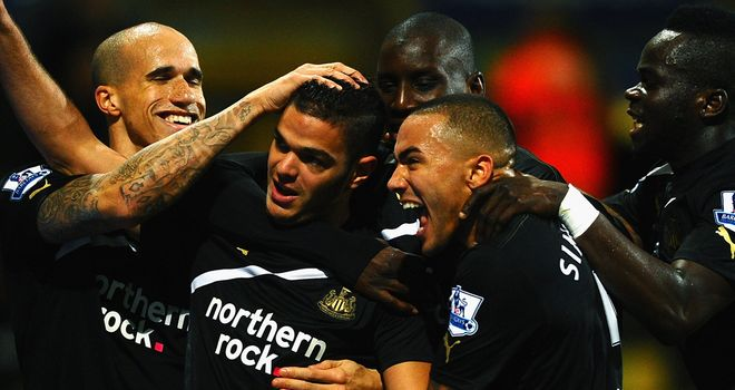 Hatem Ben Arfa: Congratulated by team-mates after great equaliser on Saturday.