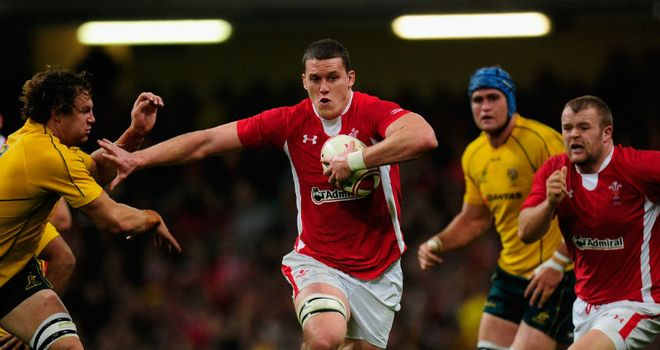 Ian Evans: Made his Wales comeback against Australia after three years of injury hell