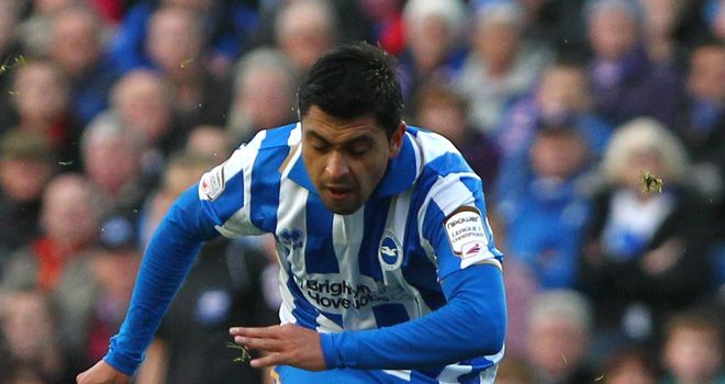 Gonzalo Jara Reyes: Could make Brighton return