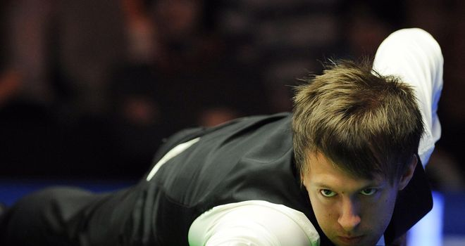 Judd Trump: Bristol potter reeled off three frames in a row against Barry Hawkins