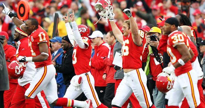Chiefs: celebrate shock win