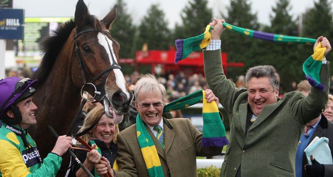 Kauto Star's connections celebrate