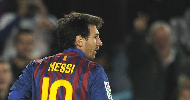 Lionel Messi: Wants to win three trophies this season after missing out on Copa del Rey