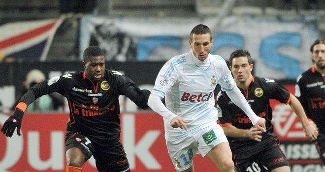 Morgan Amalfitano: Has been a model of consistency for Marseille this season