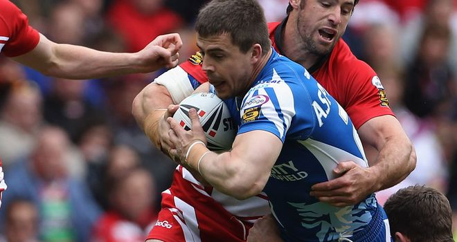 Martin Aspinwall: Super League experience with Wigan, Huddersfield, Castleford and Hull