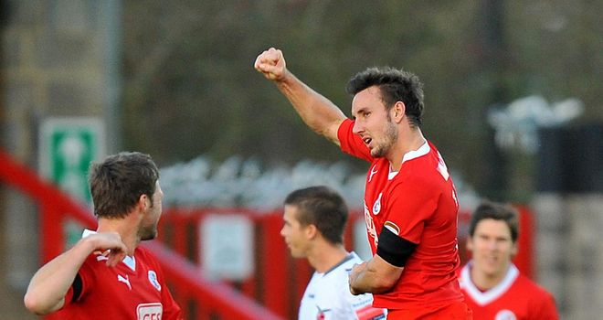 Matt Tubbs: Striker says he is happy at Crawley after Bournemouth had a bid rejected