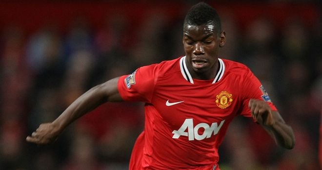 Paul Pogba: Has made the breakthrough at Old Trafford, but is yet to commit his future to the club