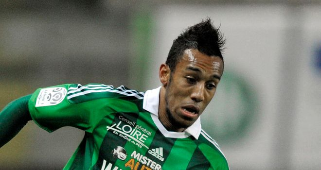 Pierre-Emerick Aubameyang: Has linked up with St Etienne on a permanent basis