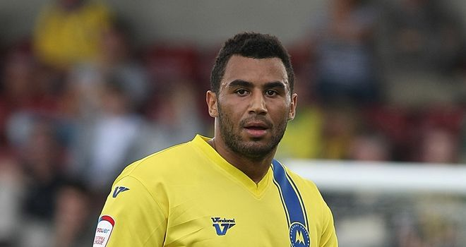 Rene Howe: Scored from the penalty spot during Torquay United's 2-1 home win over Port Vale