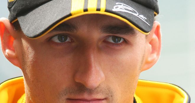Robert Kubica: out of action since his horrific rally accident last February