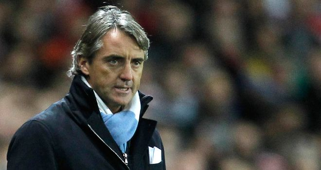 Roberto Mancini: Has allowed Abu to move to Germany on loan