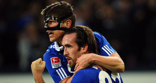 Christian Fuchs: Scored the only goal of the game for Schalke