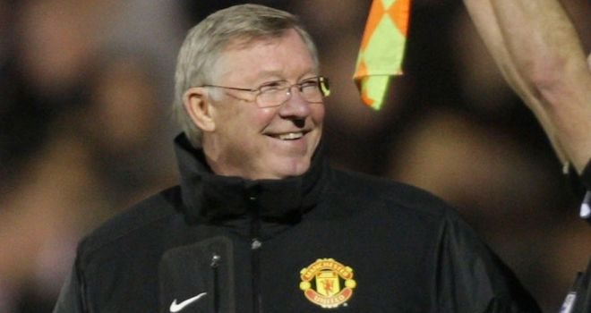 Alex Ferguson: Pleased to see Red Devils win to go level on points with rivals City