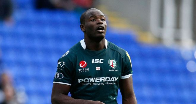 Topsy Ojo: Signed new two-year contract at London Irish