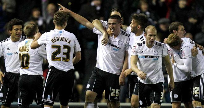 Callum Ball: Derby County striker had been a target for Crewe Alexandra