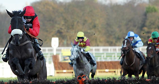 Big Buck's: Brilliant again in winning the Long Walh Hurdle