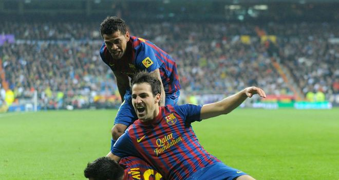Cesc Fabregas: Midfielder is delighted with how his first season at Barcelona has gone