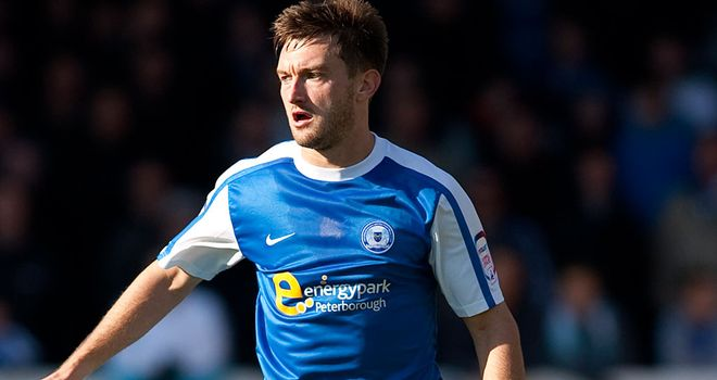 Lee Frecklington: Peterborough midfielder faces a month on the sidelines