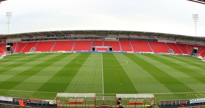 Keepmoat Stadium: Set to host U19 game