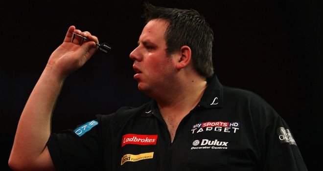 Adrian Lewis: Will now play Terry Jenkins in the last eight