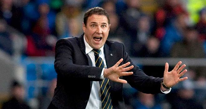 Malky Mackay: Determined
